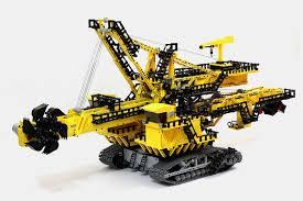lego technic moc wheel excavator er 1250 lego technic mindstorms