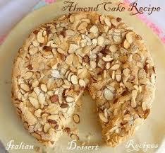 almond cake recipe easy one bowl cake