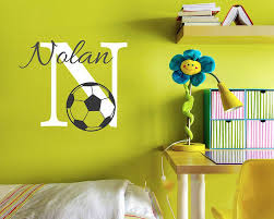 aliexpress com buy cute baby nursery football name custom wall aliexpress com buy cute baby nursery football name custom wall sticker kids room football children baby name wall decal kids decor hot sale from reliable