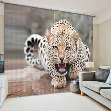 Leopard Curtains Compare Prices On Leopard Print Curtains Online Shopping Buy Low