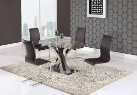 global furniture dining room sets dining table d4100dt 3d wenge by global furniture