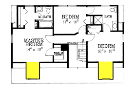 floor plan of cape 4 bedroom house plan cape may 84 lumber
