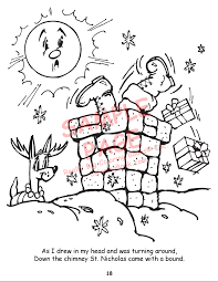 wholesale coloring books twas night christmas regular