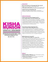 Designed Resumes 6 Sample Resume Of Graphic Designer Azzurra Castle Grenada