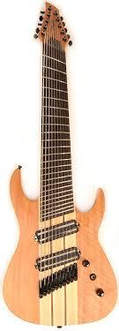 9 string fanned fret yeah i think i wanna get this 10 string guitar lol agile pendulum