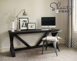 Free Woodworking Plans Writing Desk by Ana White 55 Fancy X Desk Diy Projects