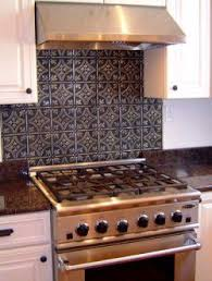 Best Tin Backsplashes Images On Pinterest Kitchen Ideas - Tin tile backsplash