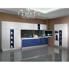 custom kitchen cabinet doors cheap white blue high gloss lacquer guangzhou wholesale export appliance custom kitchen cabinet door furniture op13 294
