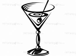 cocktail clipart black and white cocktail wall decals vdc1007en artpainting4you eu