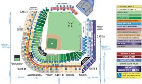 coors field seating map mlb