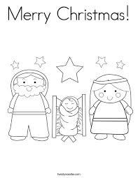 merry christmas coloring silhouette cameo