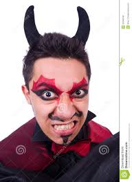 Halloween Makeup For Men by Male Devil Makeup