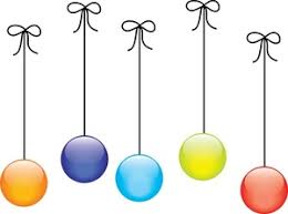 free clip image colored ornaments