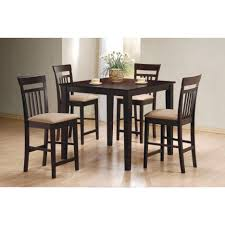 Bar Height Patio Dining Set - dining tables 5 piece counter height dining set white 7 piece
