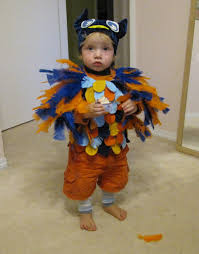 Owl Halloween Costume Baby by Easy U0026 Adorable Owl Costume 10 Steps With Pictures
