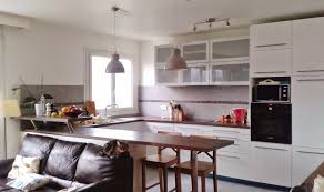 cuisine et salon ouvert cuisine ouverte sur salon une solution pour tous les espaces