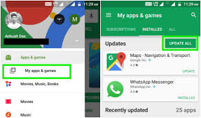 how to update apps android how to update your apps android iphone ubergizmo