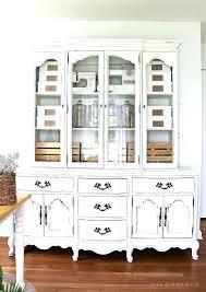 China Cabinets With Glass Doors White China Cabinet With Glass Doors Juniorderby Me