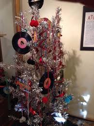 aluminum christmas tree aluminum christmas tree display at heritage museum brevard nc