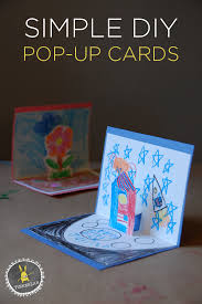 pop up birthday cards for kids how to make pop up cards tinkerlab