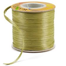 raffia ribbon raffia ribbon moss matte raffia ribbon the container store