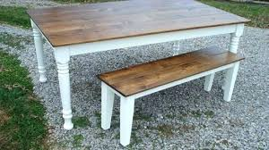 farm table with bench farmhouse table and bench farmhouse table benches farm picture old
