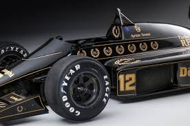 john player special livery ayrton senna u0027s restored jps lotus 98t senna the legend