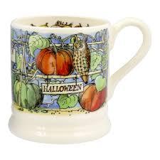 halloween coffee mug emma bridgewater 1 2 pint halloween mug 2017
