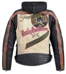 97126 13vw harley davidson womens pacer hooded 3 in 1
