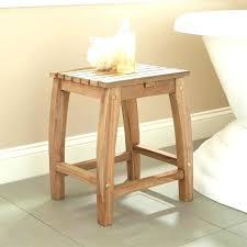 divine wooden bath stool photos bathroom small shower bench seat