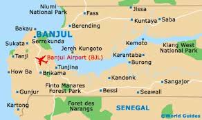 africa map gambia the gambia maps and orientation the gambia western africa