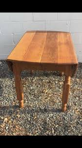 Oak Drop Leaf Table Vintage Oak Drop Leaf Table Furniture In Dover Pa Offerup