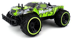 monster jam remote control trucks amazon com velocity toys muscle remote control rc truggy truck