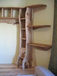 Live Edge Wood Shelves by 7 Tier Wall Shelf Reclaimed Live Edge Black Ash U0026 Black Walnut