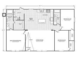 velocity model ve32483v manufactured home floor plan or modular