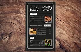 free wine list template chalkboard restaurant menu template medialoot large chalkboard restaurant menu template preview 2