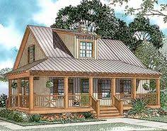 Wrap Around Porch House Plans Southern Living Hunting Island Cottage Southern Living House Plans Empty