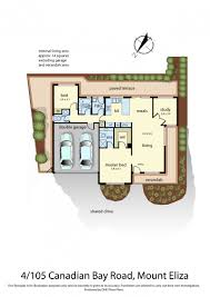 canadian floor plans unit 4 105 canadian bay road mount eliza aqua real estate