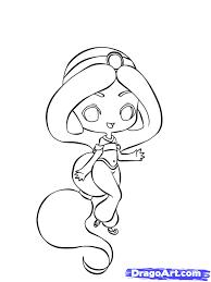 draw chibi jasmine step step chibis draw chibi anime