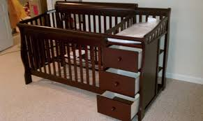baby crib dresser and changing table set chandelier