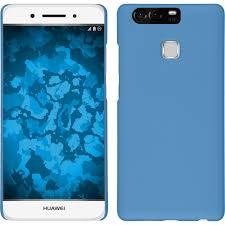 schutzhã lle designen huawei p9 schutzhülle hardcover gummiert hellblau ebay