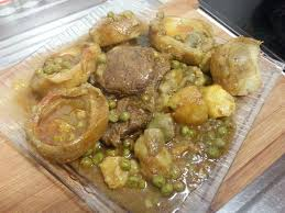 cuisiner l artichaud cuisine tunisienne tajine d artichauts petits pois et pommes de