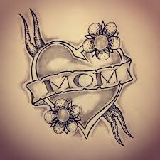 mom heart tattoo sketch by ranz pinterest mom heart tattoo