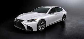 the new lexus lf gh new 2018 lexus ls 500 f sport is the sportiest in the lineup lexus