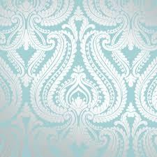 i love wallpaper shimmer damask metallic wallpaper teal silver