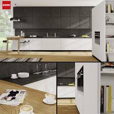 kitchen scavolini scenery 3d model cgtrader