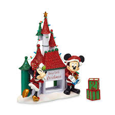 santa mickey and minnie mouse holiday countdown castle shopdisney