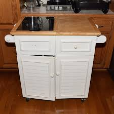 kitchen island with cutting board white painted kitchen island with marble cutting board insert in