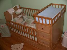 babies r us crib with changing table attached combine furniture