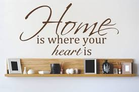 design with vinyl home is where the heart is wall decal design with vinyl home is where the heart is wall decal